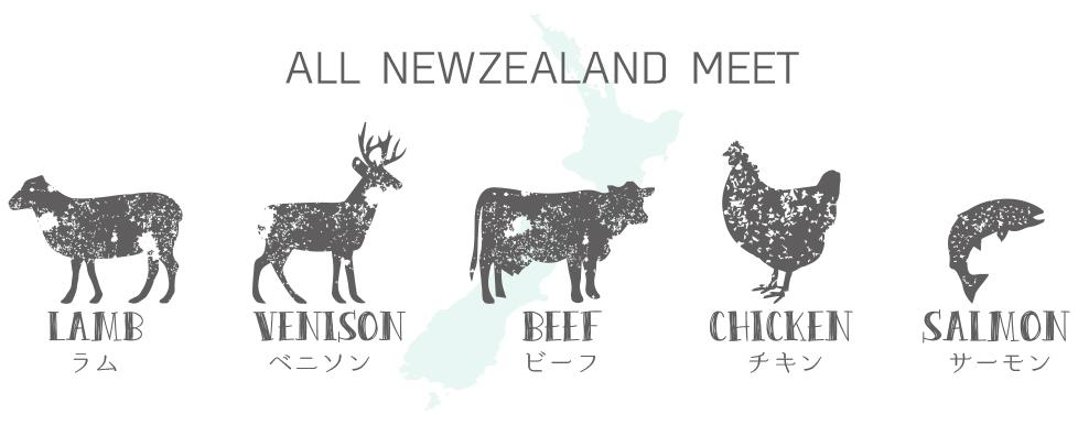 イティの肉類はすべてニュージーランド産